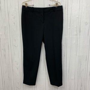 LIZ CLAIBORNE CAREER PANTS PETITE BLACK PANTS 10P
